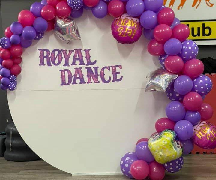 panou foto royal dance